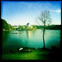 Das Foto wurde bei Sheraton Fuschlsee-Salzburg Hotel Jagdhof von Paddy 🐺🐺 am 5/9/2012 aufgenommen