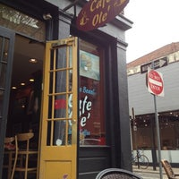 Photo taken at Cafe Ole by Nathaniel C. on 4/18/2012