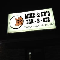 Photo taken at Mike & Ed's Bar-B-Q by Judy G. on 1/20/2012