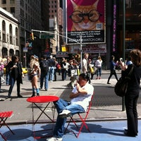 """Photo taken at Max Neuhaus """"Times Square"""" by Kevin R. on 4/14/2012"""