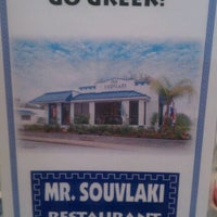 Photo taken at Mr Souvlaki by Lisa Rodriguez R. on 1/22/2012