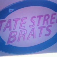 Photo taken at State Street Brats by Bart L. on 10/31/2011