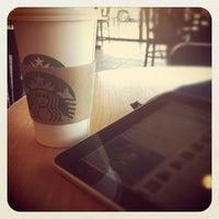 Photo taken at Starbucks by Jennifer on 1/27/2012