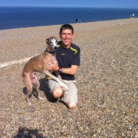 Photo taken at Weybourne Beach by Richard L. on 9/25/2011