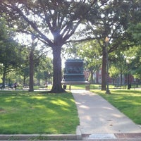 Photo taken at Logan Circle by Orlando D. on 5/27/2012