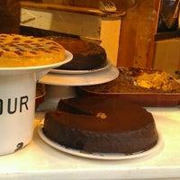 Photo taken at Flower's Café by Soulsista C. on 1/21/2012