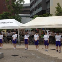Photo taken at 板橋三丁目縁宿広場 by umepou on 5/9/2012