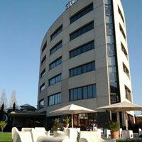 Photo taken at Sant Cugat Hotel & Restaurant by David P. on 4/1/2012