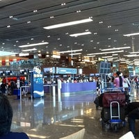 Photo taken at Terminal 1 Arrival Hall by Beatriz S. on 1/10/2012