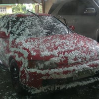 Photo taken at Miracle Car Wash by nestor jr l. on 10/7/2011