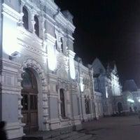 Photo taken at Rizhsky Rail Terminal by Kirill K. on 10/19/2011