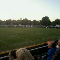 Photo taken at LMS home football games by Tim M. on 9/27/2011