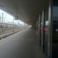 Photo taken at Gleis 3/4 by berti4 on 4/13/2012