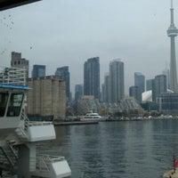Photo taken at Billy Bishop Toronto City Airport Ferry by Matt J. on 5/1/2012