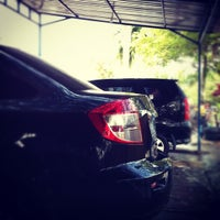 Photo taken at Jaya Car Wash by Agus S. on 1/14/2012