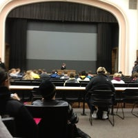 Photo taken at Macbride Auditorium by Tommy V. on 1/18/2012