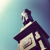 Photo taken at Friedrich von Schiller Statue by DANIEL on 8/13/2012