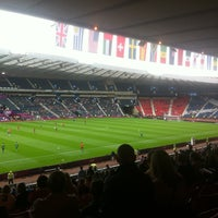 Photo taken at Hampden Park by Paul C. on 7/26/2012