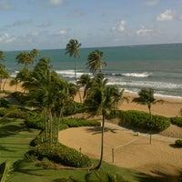 Photo taken at Wyndham Grand Rio Mar Beach Resort & Spa by Hendi V. on 4/21/2012