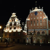Photo taken at The Town Hall Square by Pavel B. on 3/3/2012