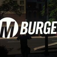 Photo taken at M Burger by Jeremiah U. on 8/10/2011