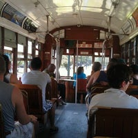Photo taken at St. Charles Streetcar by Jake B. on 9/26/2011