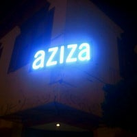 Photo taken at Aziza by Reid on 9/2/2011