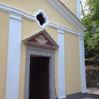 Photo taken at Santuario Della Madonna Del Monserrato by Francesca R. on 8/15/2012