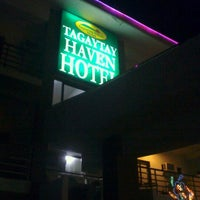 Photo taken at Tagaytay Haven Hotel by Joanne R. on 12/3/2011