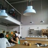 Photo taken at Charlotte - Chleb i Wino by Kornelia P. on 5/26/2012