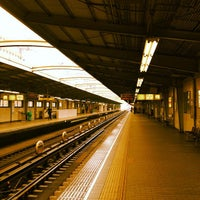 Photo taken at Nishinakajima-Minamigata Station (M14) by Mizuho S. on 2/6/2012