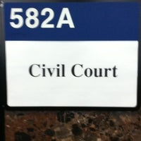 Photo taken at New York City Civil Court by Graham H. on 1/24/2012