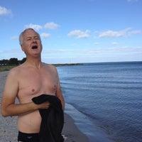 Photo taken at Ajstrup Strand by Nelly A. on 9/7/2012