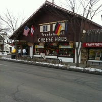 Photo taken at Frankenmuth Cheese Haus by Stephanie S. on 12/24/2010