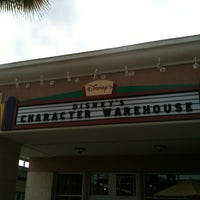 Photo taken at Disney's Character Warehouse by Ale M. on 3/6/2012