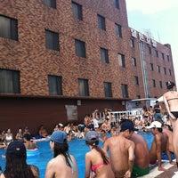 Photo taken at Hamilton Hotel Swimming Pool by Kim c. on 8/5/2011