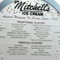 Photo taken at Mitchell's Ice Cream by Stephanie M. on 9/4/2011