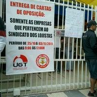 Photo taken at Sindicato dos Comerciários de São Paulo by Alessandra L. on 11/2/2011
