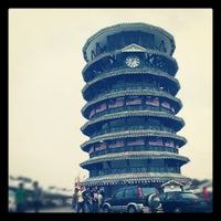 Photo taken at Leaning Tower by Saiful D. on 8/20/2012
