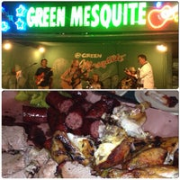 Photo taken at Green Mesquite BBQ by Mariana P. on 8/11/2012