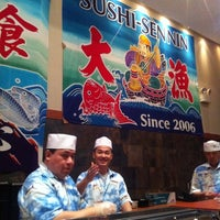 Photo taken at Sushi Sen-Nin by Pas N. on 4/30/2011