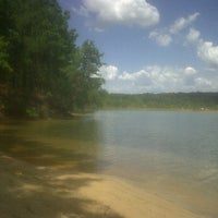 Photo taken at Blue Hole by Olessya K. on 7/16/2011