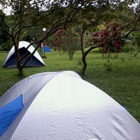 Photo taken at Camping Alta da Serra by Leopoldo G. on 1/1/2012