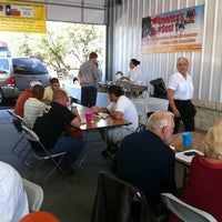 Photo taken at North East ISD Transportation by Mike B. on 9/28/2011