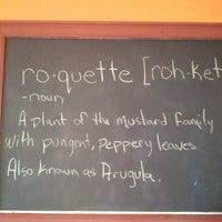 Photo taken at Roquette Burger Bistro by Jason R. on 8/31/2011