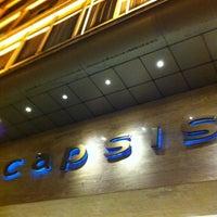Photo taken at Capsis Hotel Thessaloniki by Huseyin C. on 2/25/2012