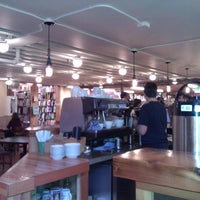 Photo taken at Elliott Bay Café by Nicole M. on 11/17/2011