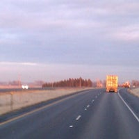 Photo taken at Interstate 84 West by feather in the wind E. on 2/9/2012