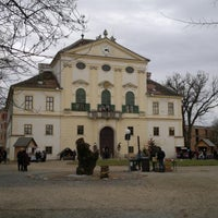 Photo taken at Schloss Kirchstetten by Roman on 12/5/2011