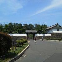 Photo taken at Sakuradamon Gate by alm o. on 8/18/2011